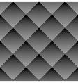 Diagonal checked pattern vector image