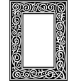 fancy frame vector image