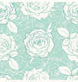 hand drawn tulip seamless pattern vector image