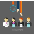 employee recruitment vector image