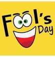 April Fools Day vector image vector image