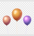 balloon isolated object vector image