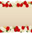 Romantic Flower Frame vector image vector image