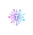 t share letter logo icon design vector image