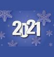 2021 new year background festive premium design vector image vector image