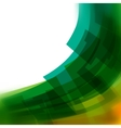 background with green blurred lines vector image vector image