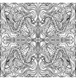 coloring page abstract pattern with maze waves
