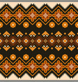 ethnic seamless pattern mexican geometric print vector image vector image