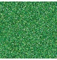 Glitter green seamless texture vector image vector image