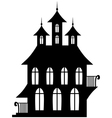 gotic house vector image