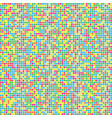 pixel abstract background vector image vector image