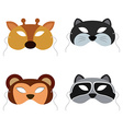 Animals Mask vector image vector image