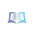 book symbol icon design vector image vector image