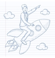 Business start up vector image vector image