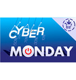 cyber monday 3 vector image