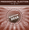 Election 2016 Elephant versus Donkey Banner vector image