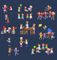 for celebration children day fun child vector image vector image