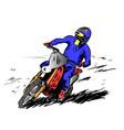 motosport vector image
