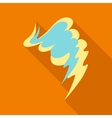 Smear icon flat style vector image vector image