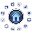 smart house concept vector image