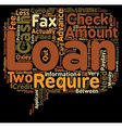 Cash Advance Loans Are The Fees Worth It text vector image vector image