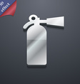 fire extinguisher icon symbol 3D style Trendy vector image