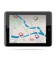 global positioning system navigation gps navigat vector image