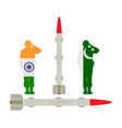 india missile rocket nuclear bomb against pakistan