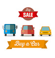 Sale Car Design vector image vector image