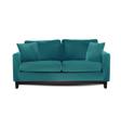 Sofa isolated