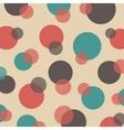 291polka dot pattern vector image vector image
