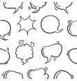 Pattern style text balloon hand draw