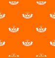 saw tool pattern orange vector image vector image