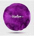 Watercolor circle vector image vector image