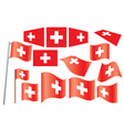 flag of Switzerland vector image