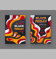 black friday blowout price sale up to 50 and 70 vector image vector image
