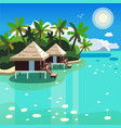 bungalows image vector image vector image
