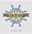 hello summer2 2 vector image vector image