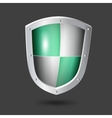 shield icon - vector image vector image
