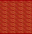 asian traditional seamless ocean wave pattern vector image