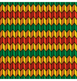 Background seamless pattern in rasta colors vector image