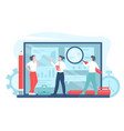 business process automation vector image vector image