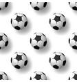 football balls seamless patternbackground heap of vector image vector image