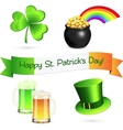 Saint Patricks Day design elements set vector image