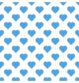 seamless pattern valentine s day with big sky blue vector image vector image