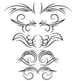 Set of elements for design vector image vector image
