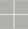 set of seamless backgrounds with different vector image vector image