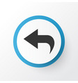 undo icon symbol premium quality isolated return vector image