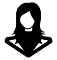 Businessman icon call centar4 vector image vector image