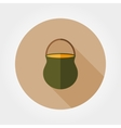 Camp pot icon vector image